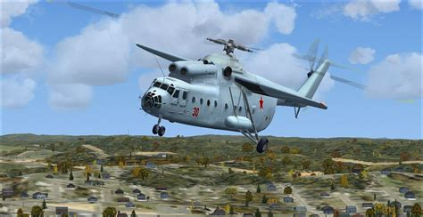 Mil Mi-6 Hook Updated Package for FSX