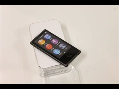 NEW Apple iPod Nano - Space Gray - Unboxing ( 8th